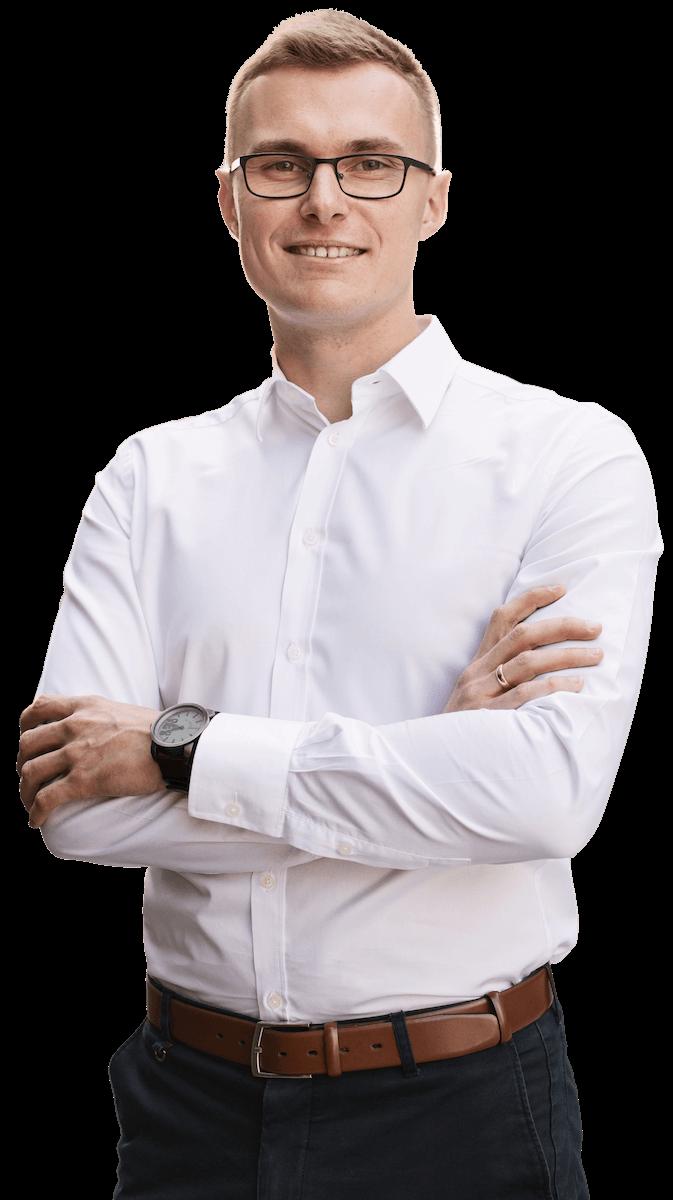 Paweł Leżoch - prowadzący Program Szkoleniowy Zarabianie Na Tworzeniu Stron